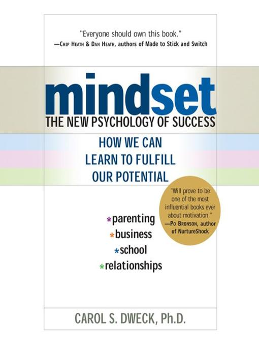 Title details for Mindset by Carol Dweck - Wait list